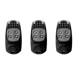 3 télécommandes CAME ATO4